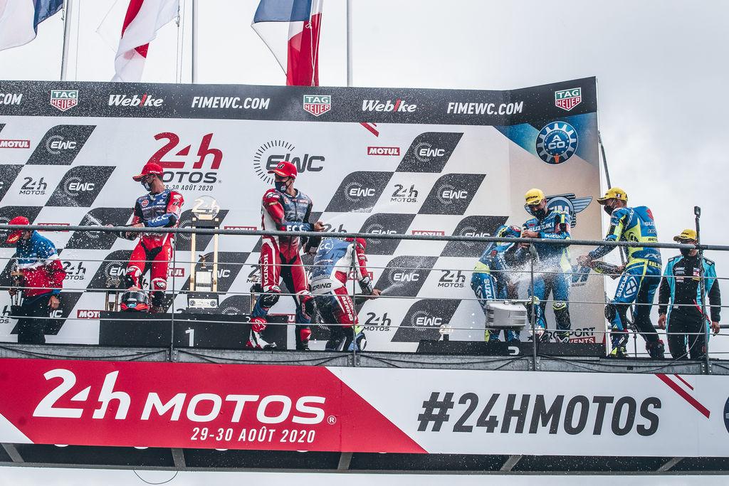 Podium für Honda und Suzuki in Le Mans