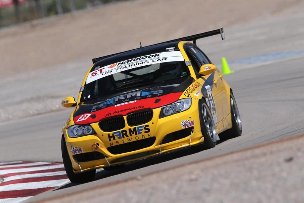 Reza Arsham: the US Touring Car Championship's youngest ever winner
