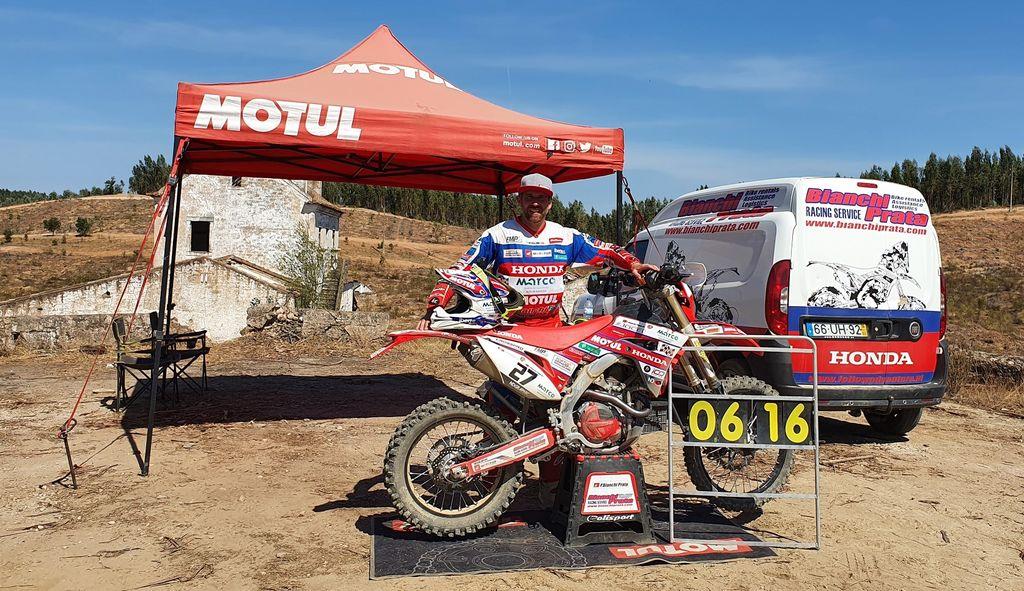 Pedro Bianchi Prata de regresso às competições de TT