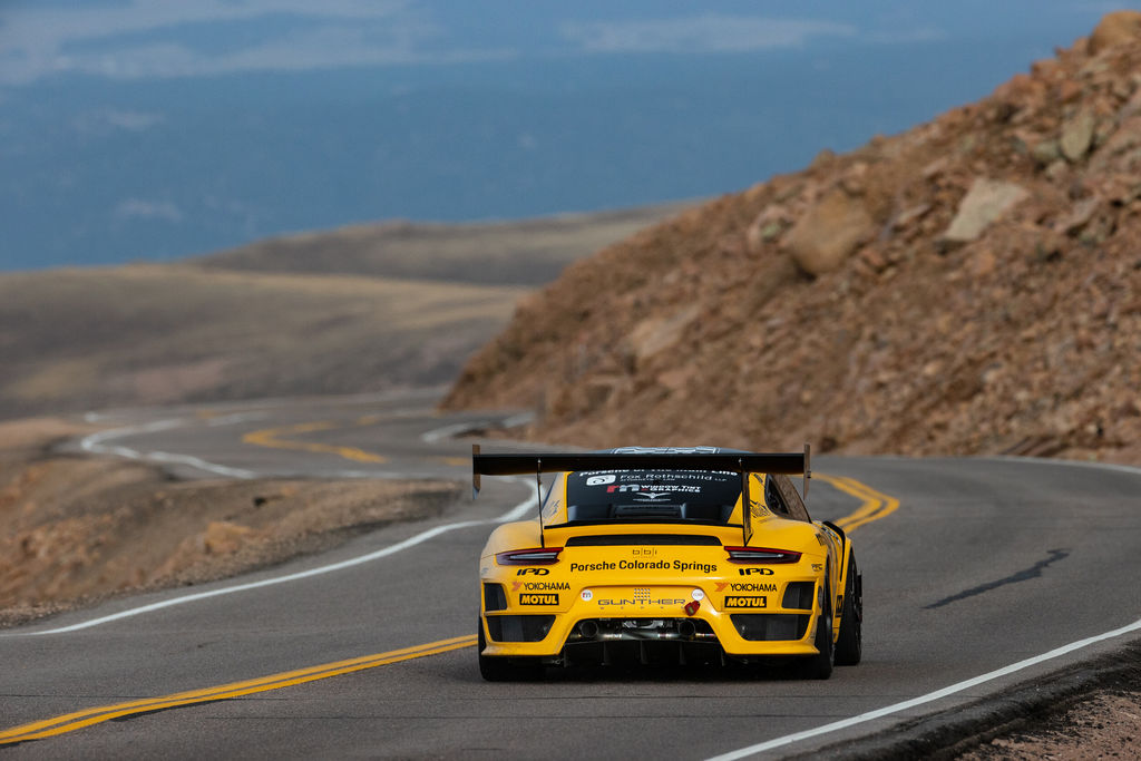 Speaking of turbo engines, for this year's Pikes Peak you built an incredible GT2RS!