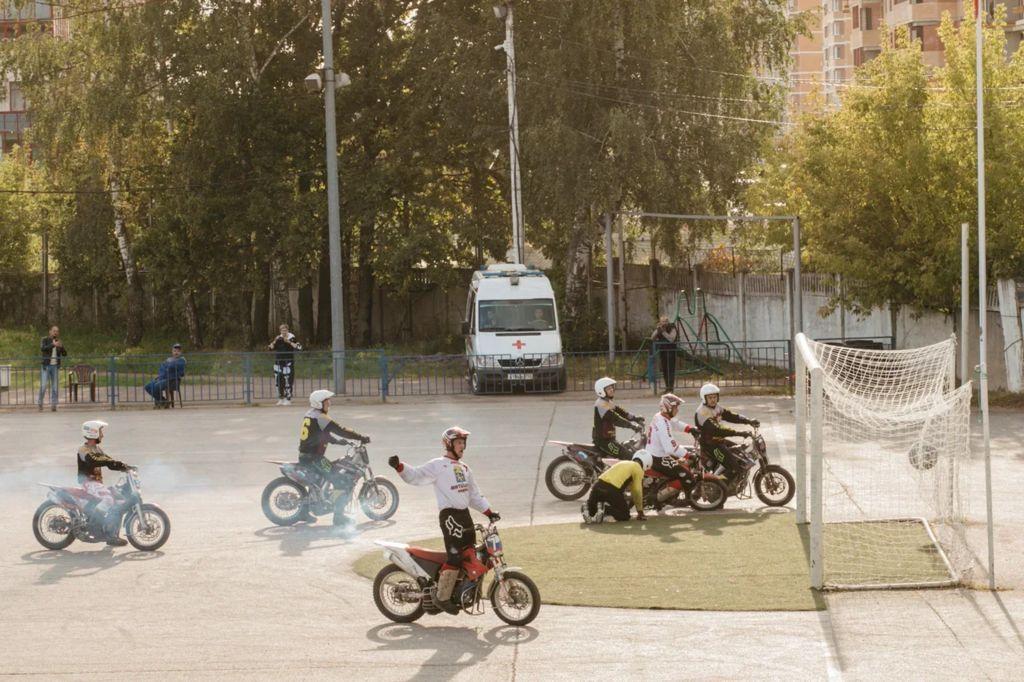 Команда города Видное завоевала Кубок России по мотоболу