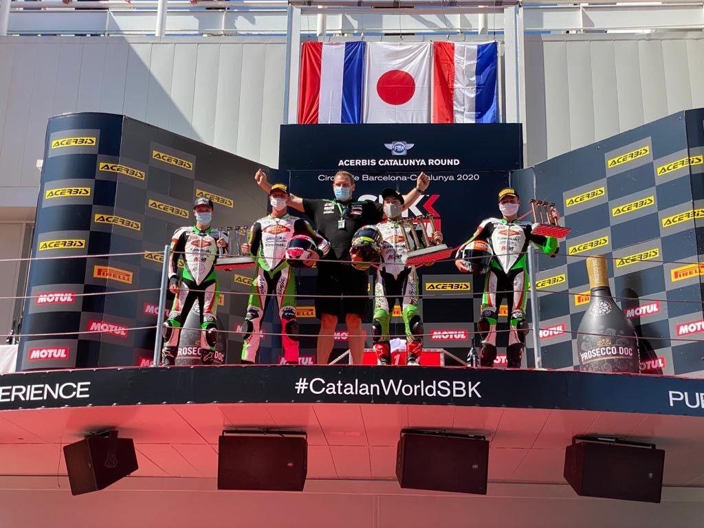 MTM Kawasaki Motoport rocks Supersport 300