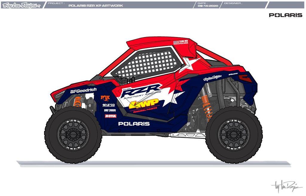 Motul signe un partenariat avec l'équipe usine Polaris pour le Dakar 2021