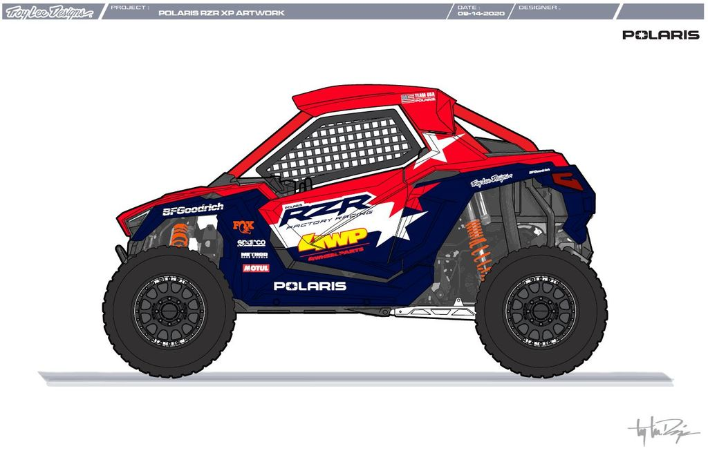Motul signs partnership with Polaris Factory Team for Dakar 2021