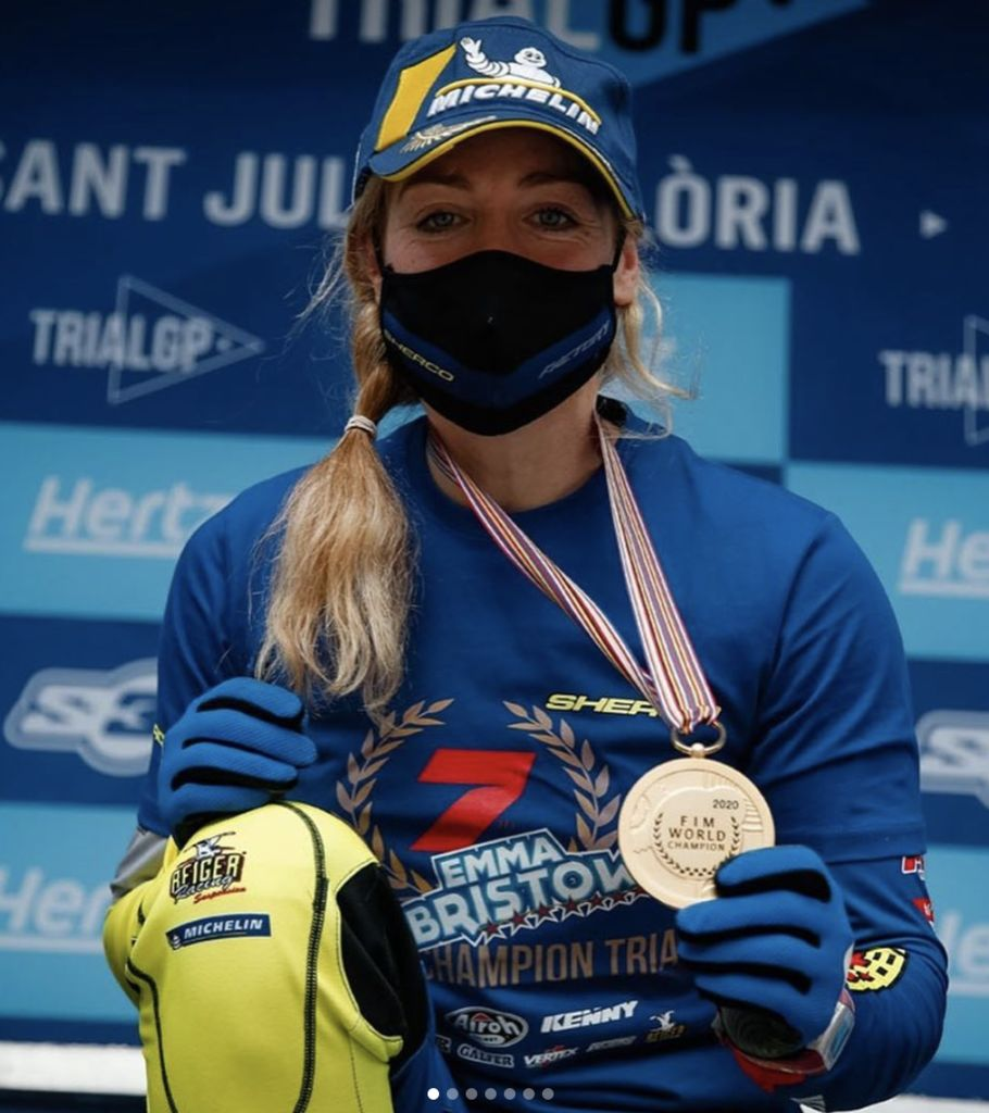Emma Bristow takes 7th World Championship with Motul