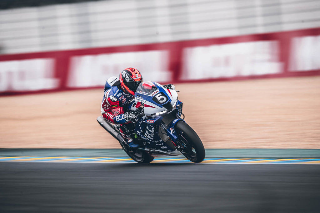 Your team took the win at the 24 hours Le Mans Motos. That's no mean feat. How important are lubricants in ensuring you complete the 24 hours and make it to the finish line?