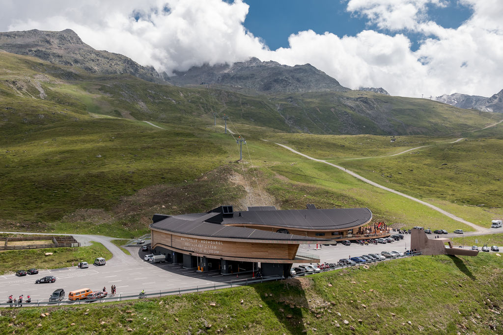 Attila, Crosspoint is at the top of a mountain in Austria. An unlikely place for a bike museum. How did the idea come about?