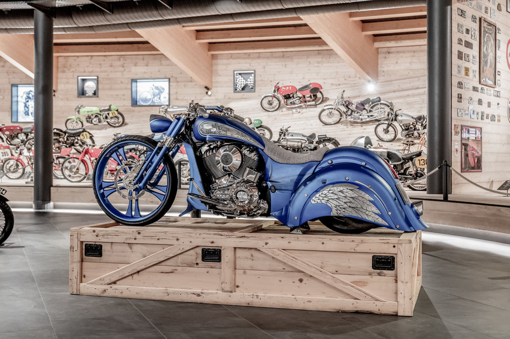 Do you specialise in exhibiting a certain type of bike?