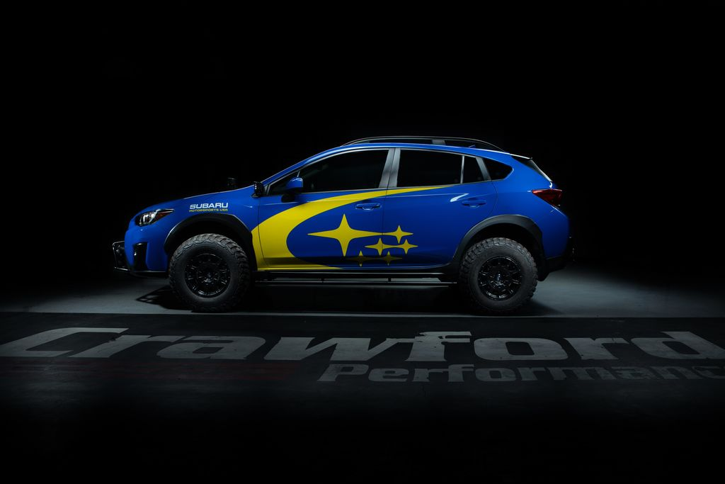 Crawford created the gnarliest Subaru Crosstrek imaginable!