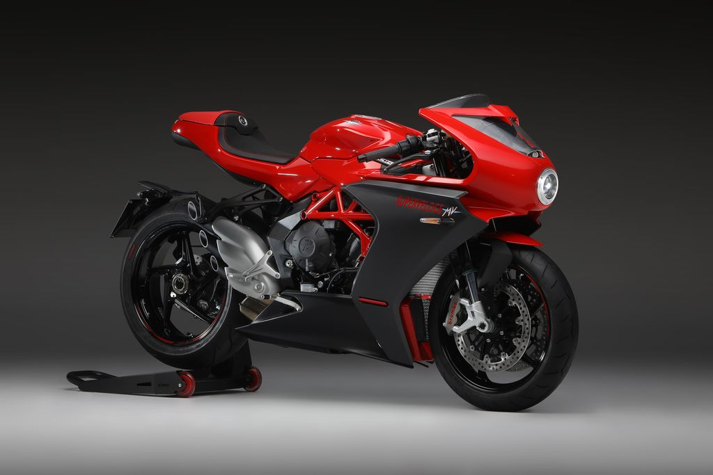 How did the MV Agusta partnership come about?