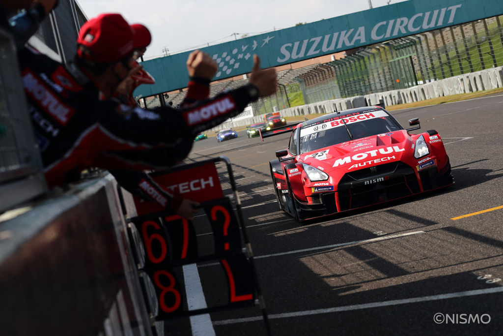 You had a great win at Suzuka recently after a period of bad luck. Is the GT-R better suited to technical tracks like this?