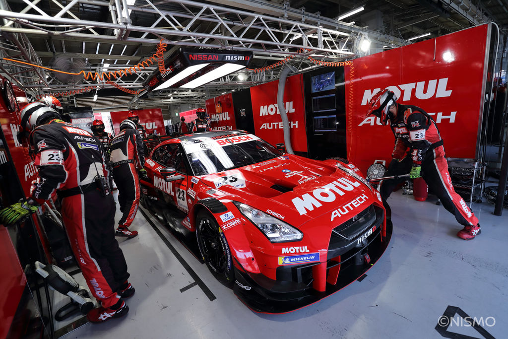 How does Super GT compare to other championships you've competed in?