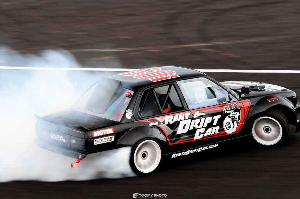 Why buy a drift car when you can rent one?