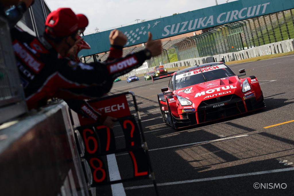 今までの不運を断ち切り、鈴鹿サーキットでは勝利を収めましたね。GT-Rは鈴鹿サーキットの様なテクニカルなサーキットを得意としているのでしょうか?