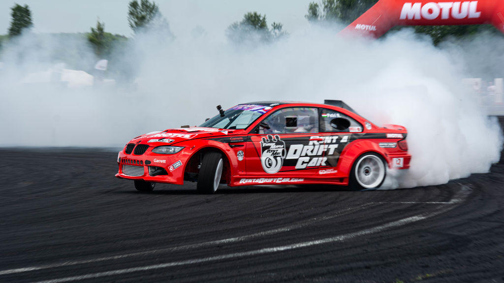 Drifting is obviously pretty hard on a car. What kind of difference does Motul's lubricants make?