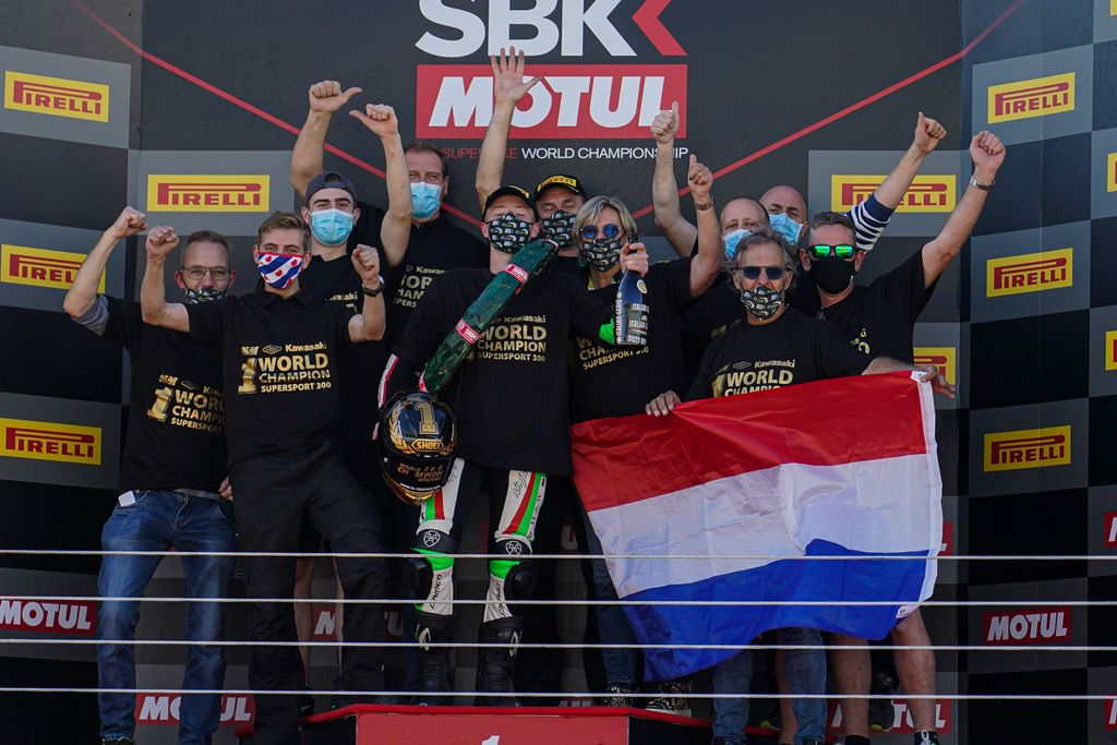 Belgian Motul Supported Team wins Supersport Championship