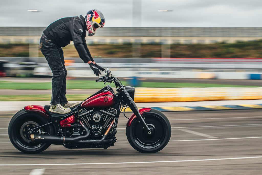 JEKILL AND HYDE: TEAMING UP WITH MOTUL AND HARLEY-DAVIDSON!