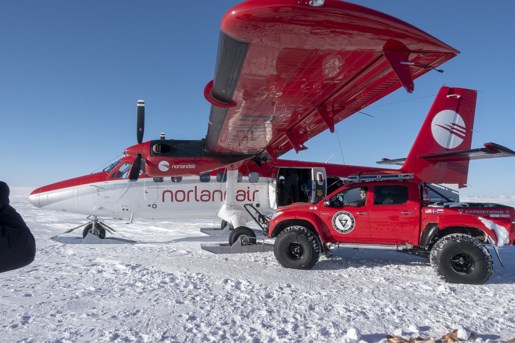 Have you been to Antarctica? What's it like?