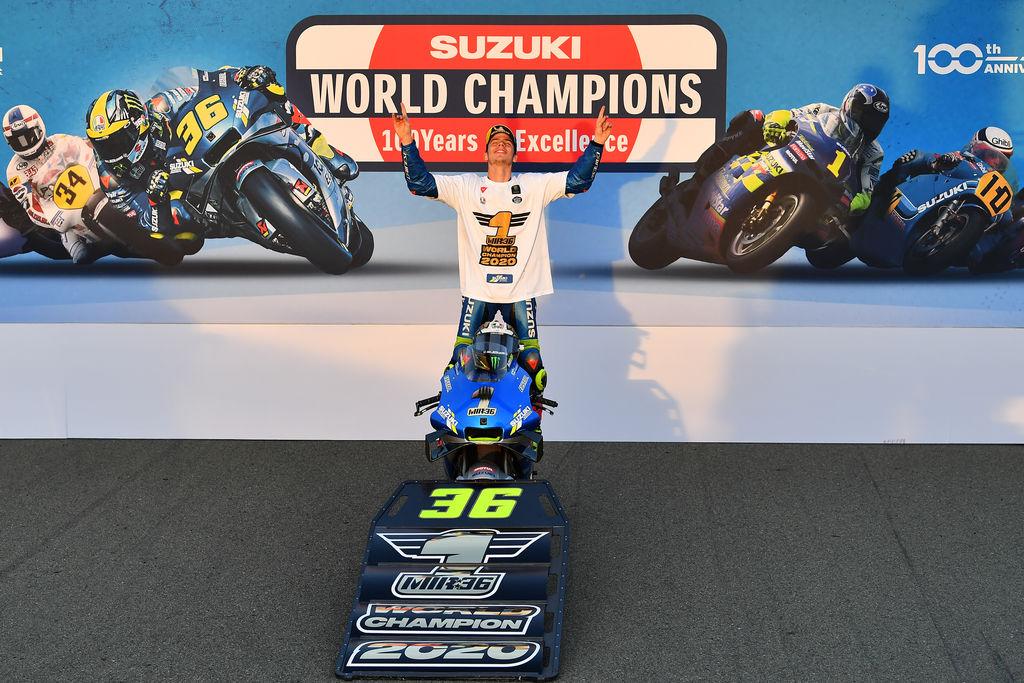 Champion du Monde en MotoGP !