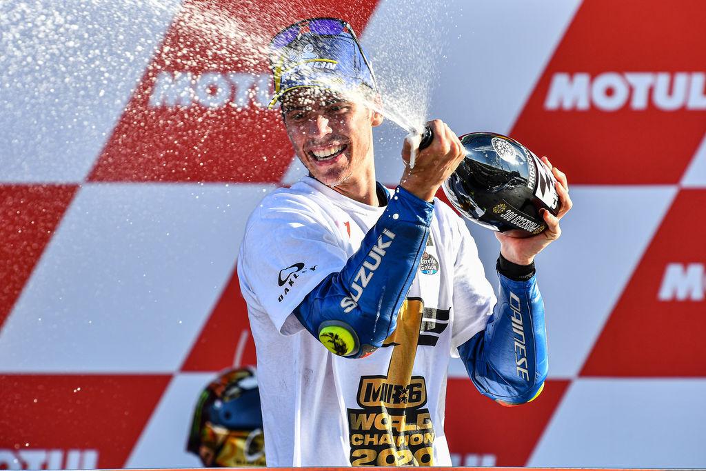 Un maravilloso Mir lleva a Motul a la corona del MotoGP