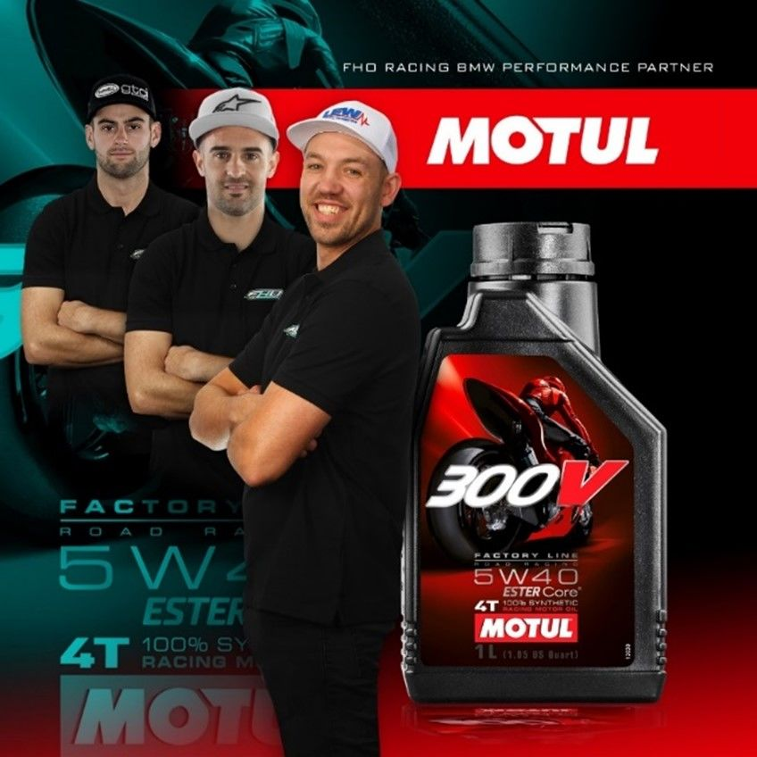 MOTUL is proud to announce a new partnership with FHO Racing