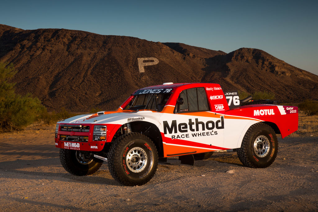 Is this new Trophy Truck one you'll enter into the next Baja?