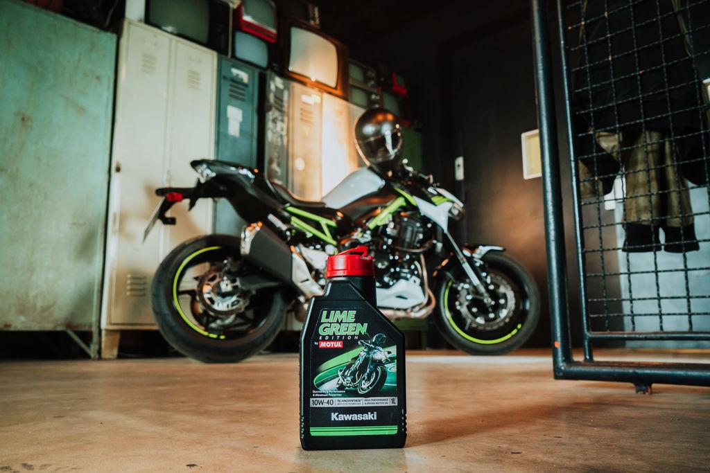 Olie voor de echte fan - Kawasaki en Motul introduceren nieuwe olie
