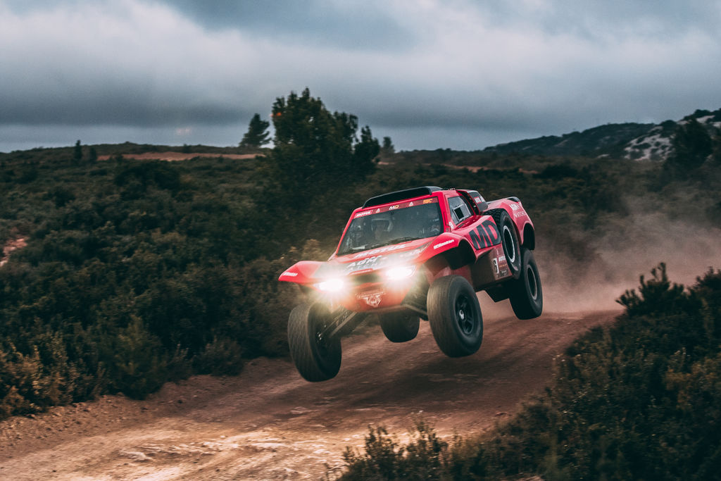 "CHRISTIAN LAVIEILLE: ""THE OPTIMUS IS A CAR BUILT TO DO ONE THING – RACE THE DAKAR RALLY"""