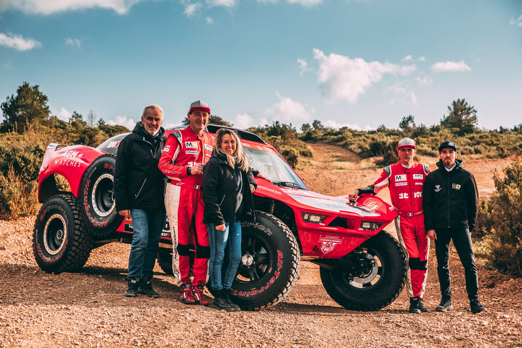 "ANTOINE MOREL DU TEAM MD RALLYE : ""L'OPTIMUS DEVRAIT RENDRE LE DAKAR PLUS FUN"""