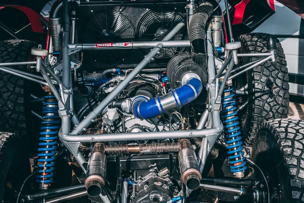 Qu'est-ce que cela signifie pour vous, en tant que directeur d'équipe, de présenter un buggy rouge Motul dans une épreuve comme le Dakar ?