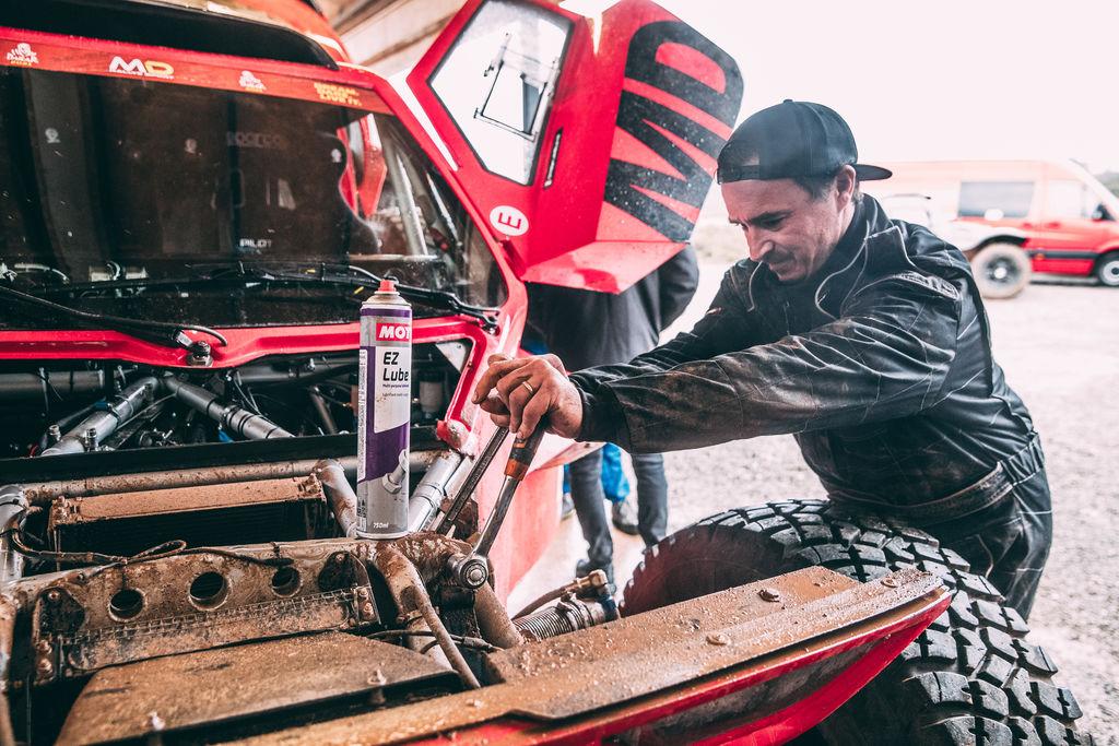 Quel est votre objectif pour le prochain Dakar ?