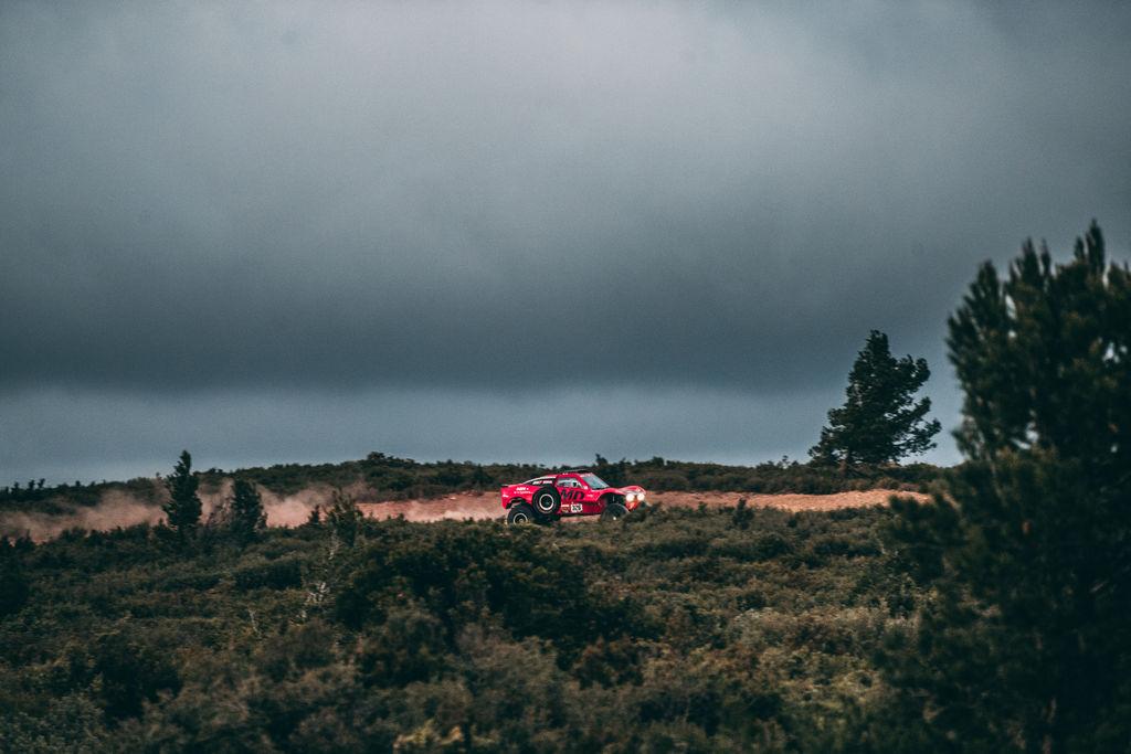 En parlant de buggys et particulièrement de l'Optimus, le contraste est frappant avec la Toyota. Il s'agit d'un véritable buggy à roues motrices. Quel défi cela représente-t-il ?