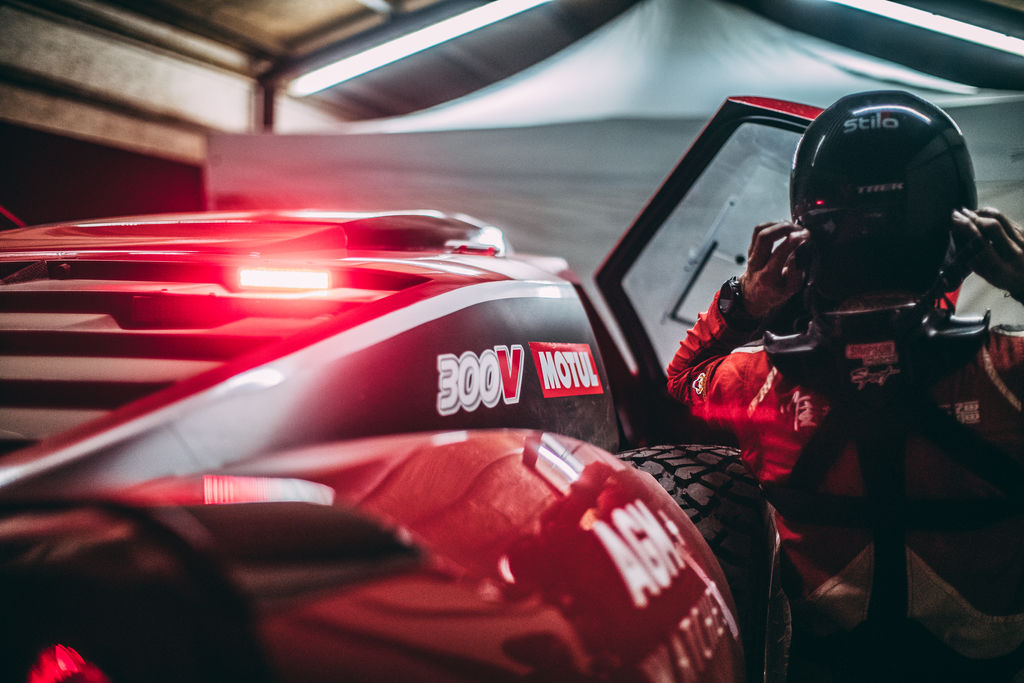Vous conduisez la voiture rouge Motul. Qu'est-ce que cela signifie pour vous ?