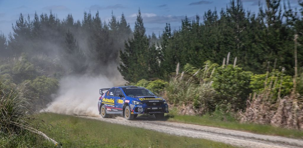 Did you get the chance to do any rallying this year?