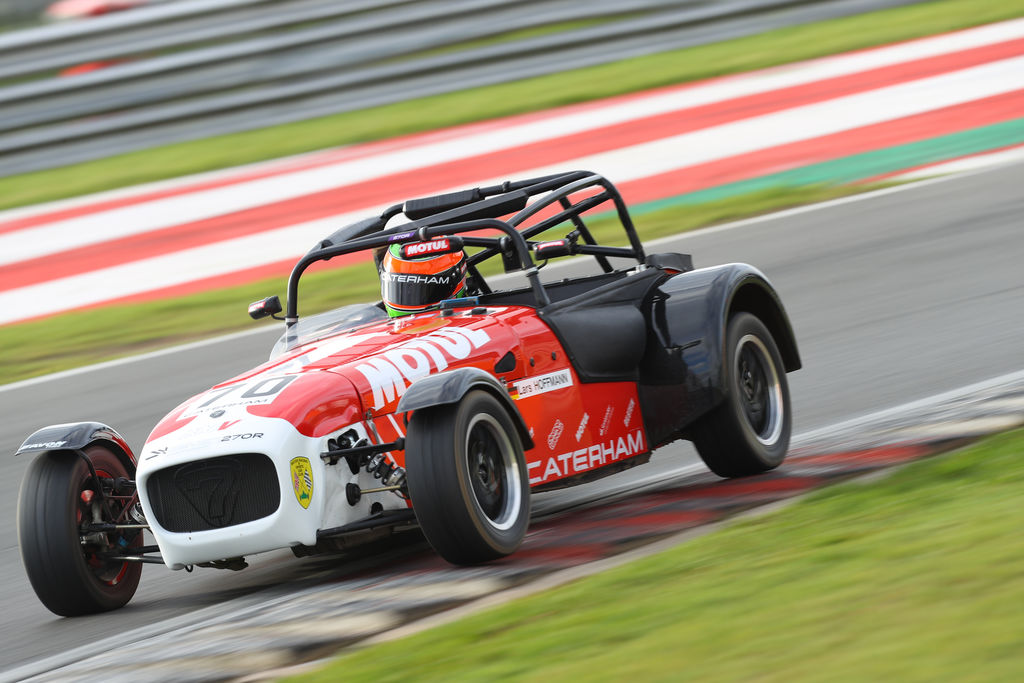 "CATERHAM CHAMP LARS HOFFMANN: ""I DIDN'T EXPECT TO WIN"""