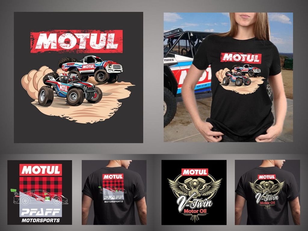 "Motul t-shirt designer Steven Dahlen: ""My ambition was to be a driver, but it's a tough nut to crack"""