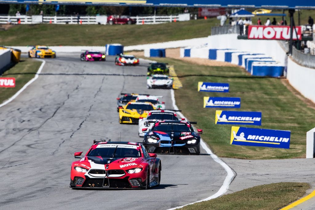 What's it like to compete at something like the Daytona 24 Hours compared to sprint racing?