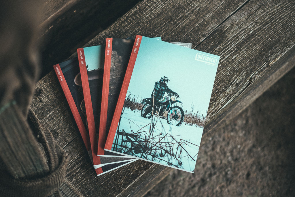 Oilfinger: the motorcycle magazine devoted to garage culture