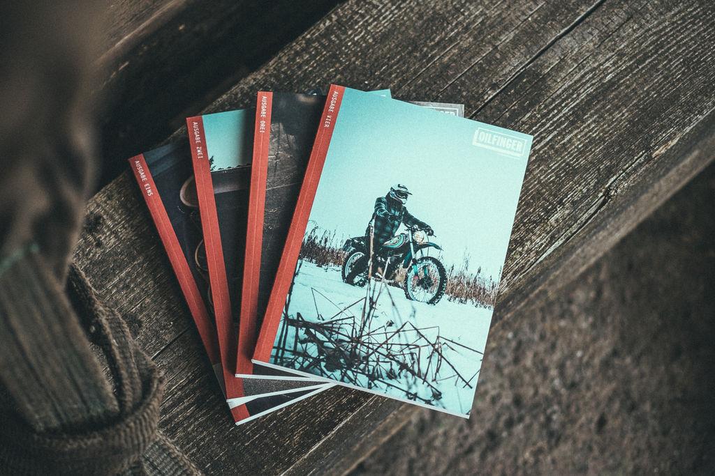 Oilfinger: das Motorradmagazin für Garagenkultur