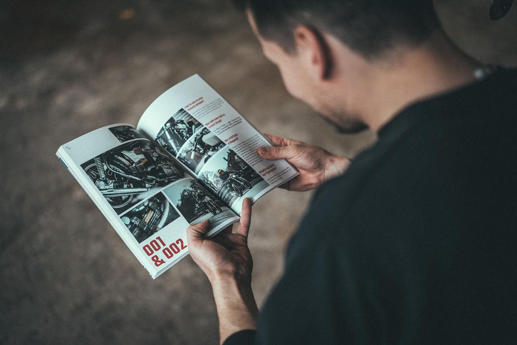 Wie unterscheidet sich Oilfinger von allen anderen Motorradmagazinen?