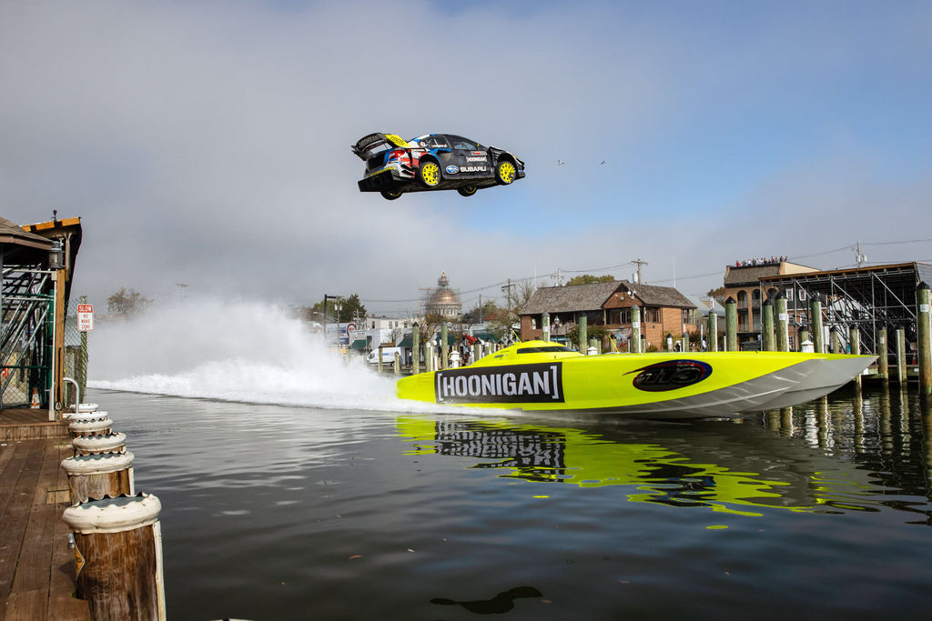 The anatomy of a Gymkhana car: the black magic of mixing drift and grip