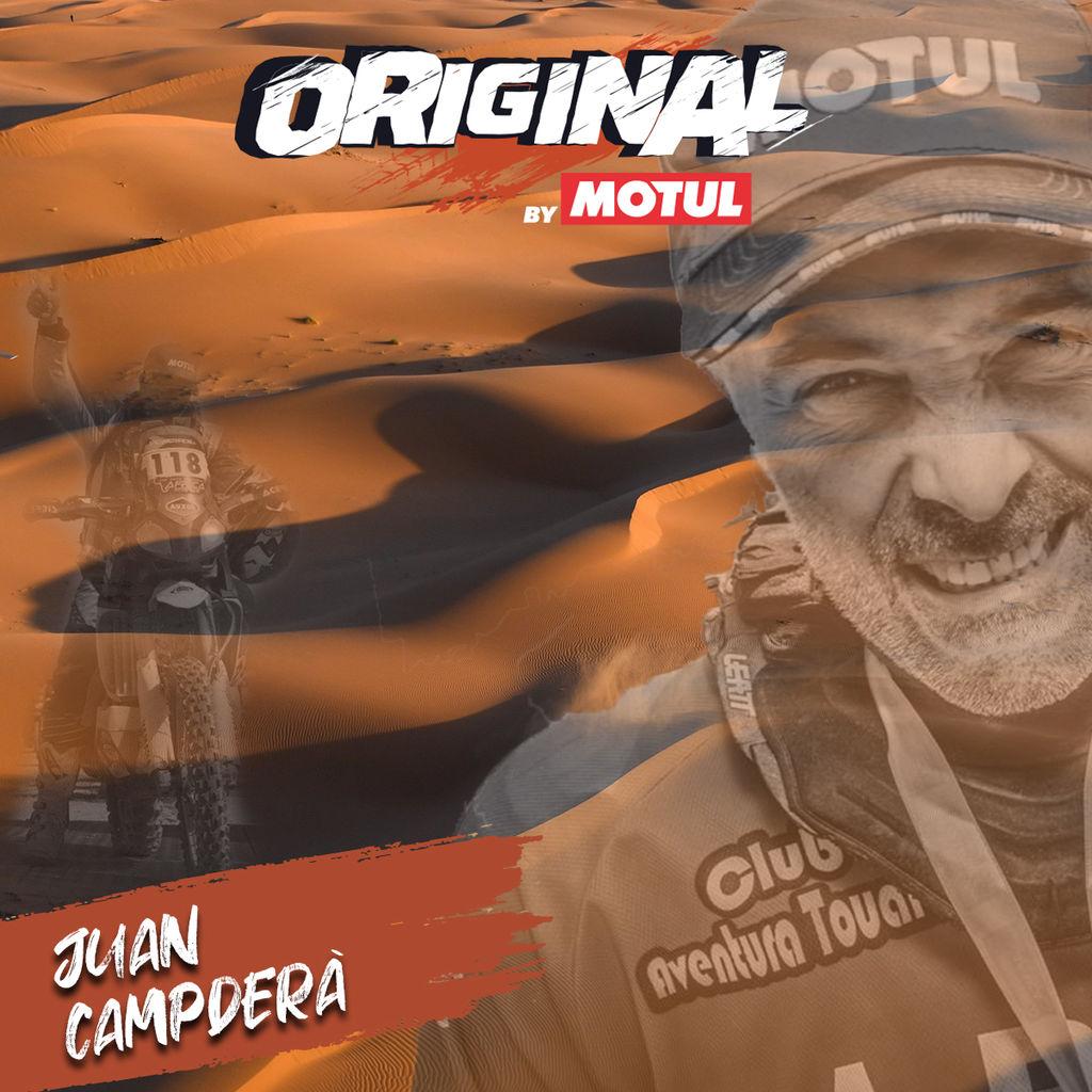 JOAN CAMPDERÀ, DESCUBRIENDO A LOS ORIGINAL BY MOTUL