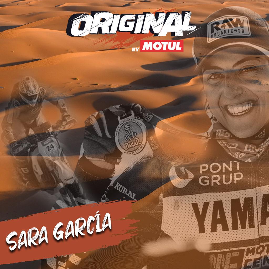 SARA GARCÍA, DESCUBRIENDO A LOS ORIGINAL BY MOTUL