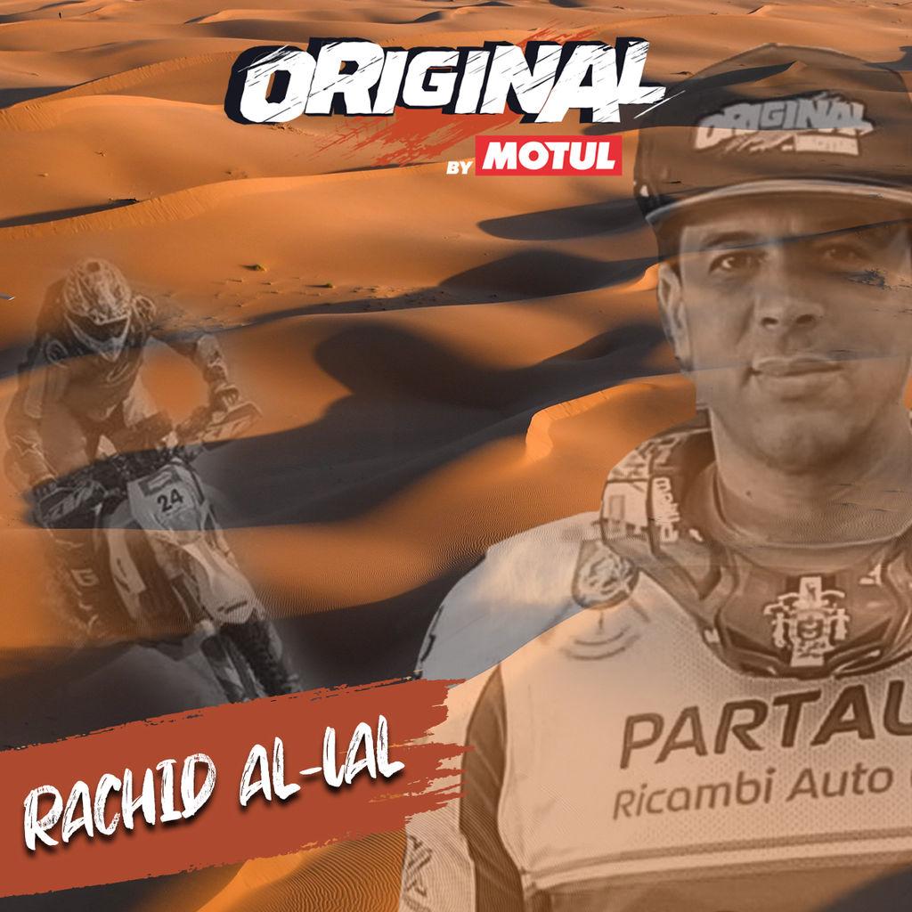 RACHID AL-LAL, DESCUBRIENDO A LOS ORIGINAL BY MOTUL