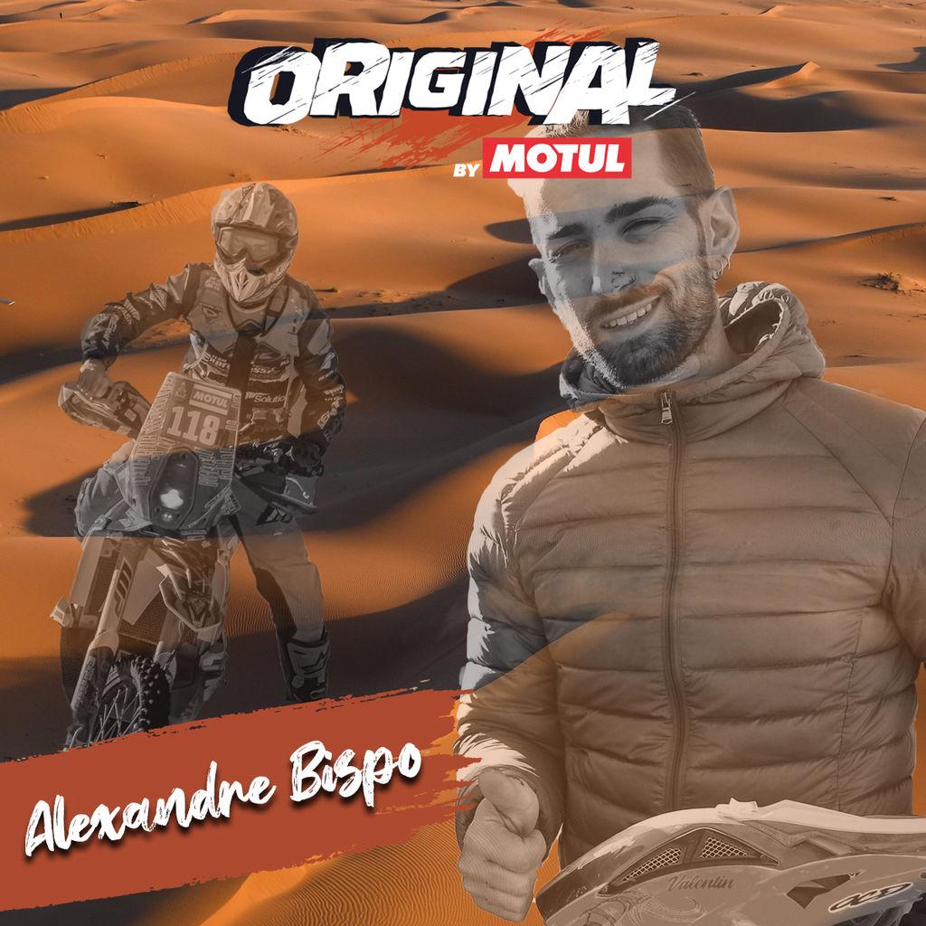ALEXANDRE BISPO, DESCUBRIENDO A LOS ORIGINAL BY MOTUL