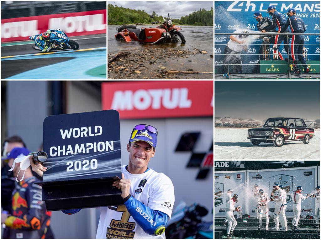 Les six meilleurs moments des sports mécaniques en 2020