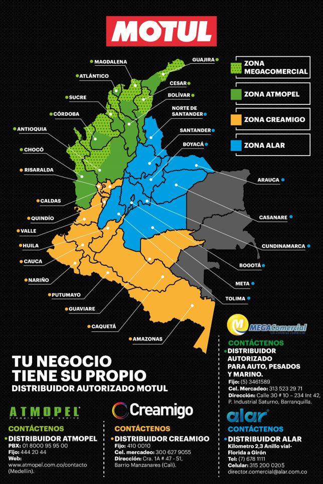 NUEVO IMPORTADOR EN COLOMBIA