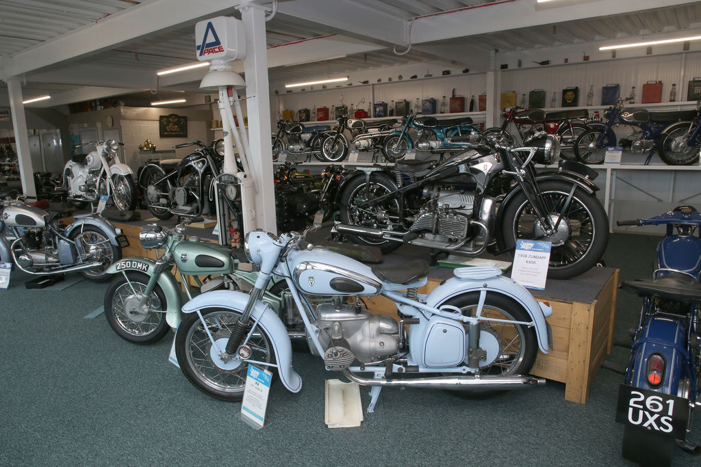 Your museum has been regarded as, possibly, the world's best collection of motorcycles. And you've got 400 bikes. Where do the bikes come from? Are they loans from collectors or do you own them?