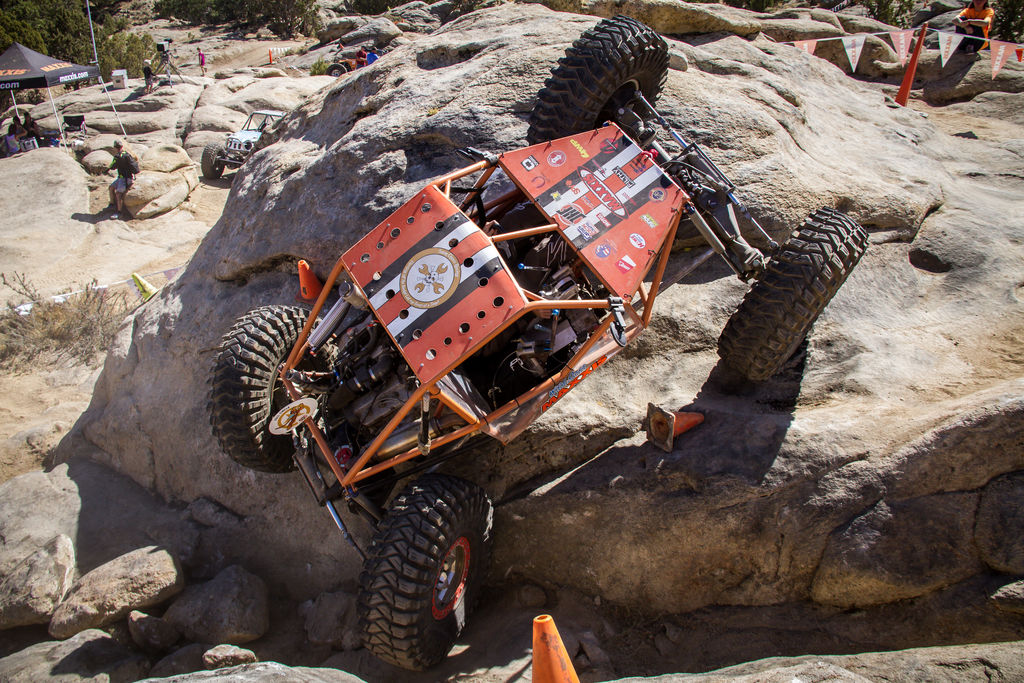 How much more extreme is it than regular off-roading? Could regular off-roaders handle it?