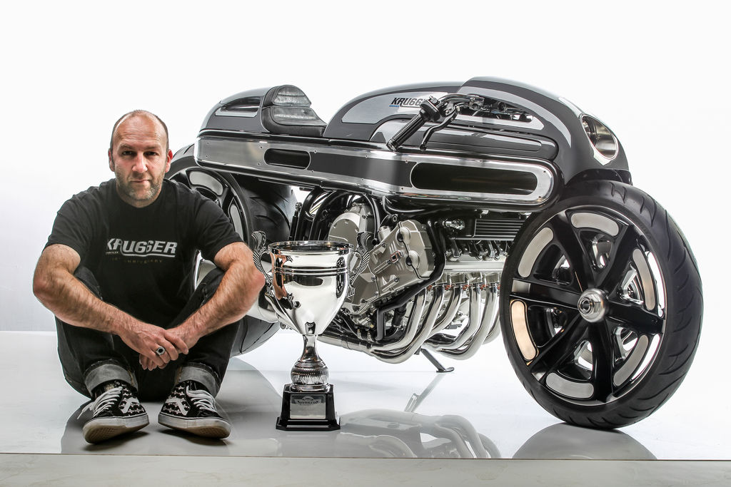 "CUSTOM BIKE BUILDER FREDDIE KRUGGER: ""MY INSPIRATION IS OLD SCHOOL"""